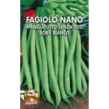 Fagiolo Nano Boby Bianco