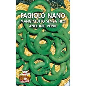 Fagiolo Nano Anellino Verde