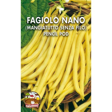 Fagiolo Nano Senza Filo Pencil Pod Wax