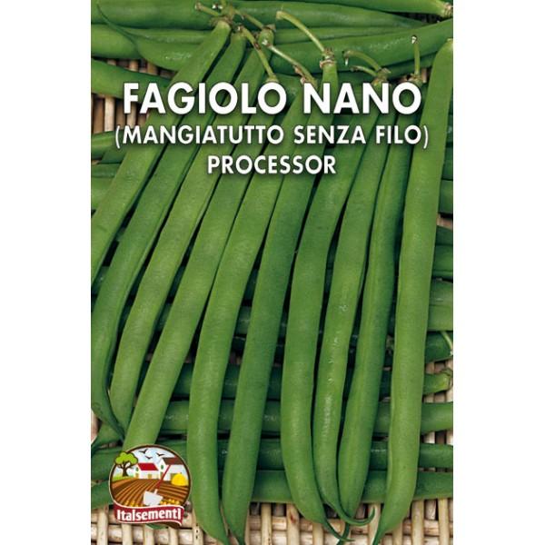 Fagiolo Nano da Cornetti Verdi Processor