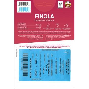 FINOLA - 50 Semi Certificati